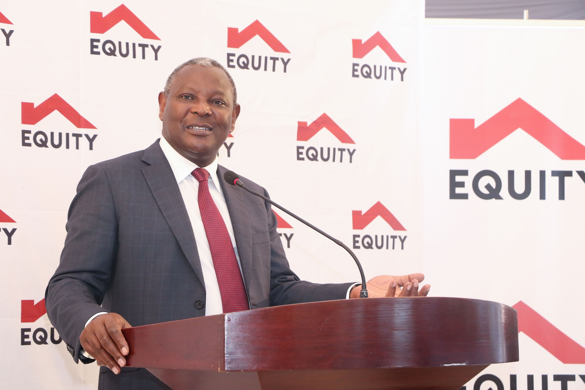 Equity Bank share price 2020 - James MWangi
