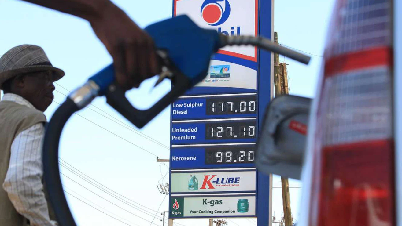 Fuel prices in Kenya