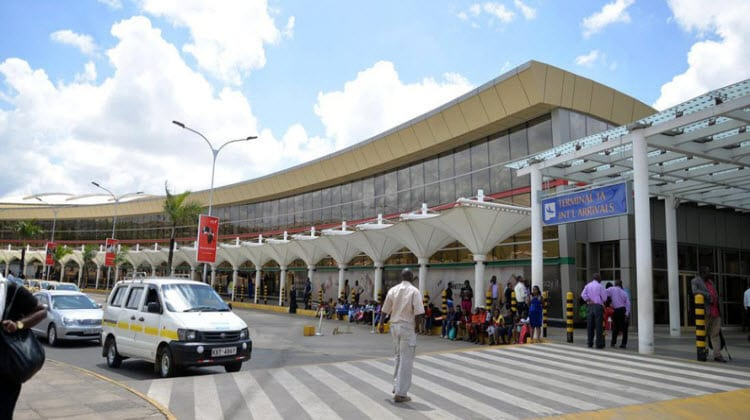 A section of the Jomo Kenyatta International Airport (JKIA).