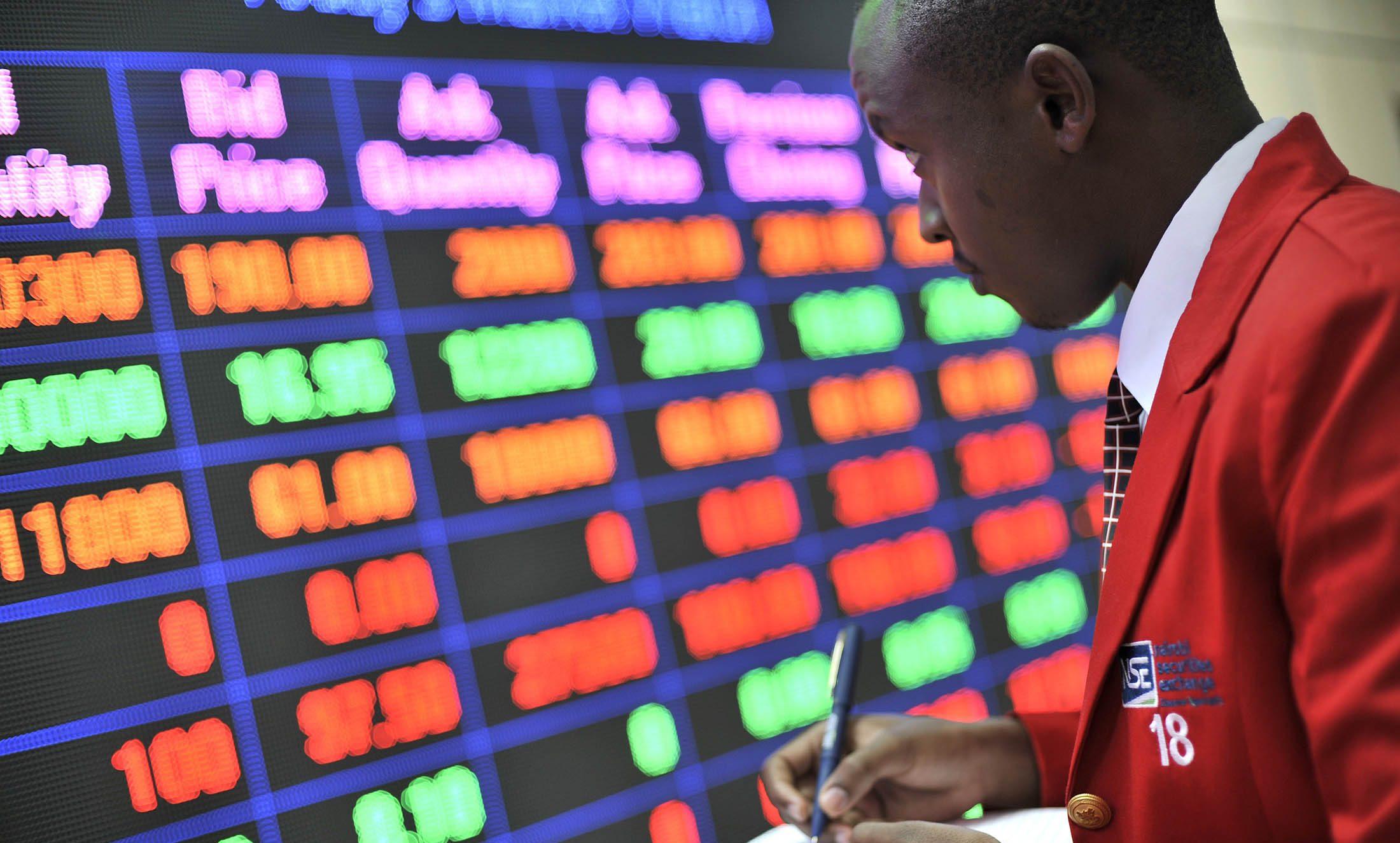 NSE trading Kenya