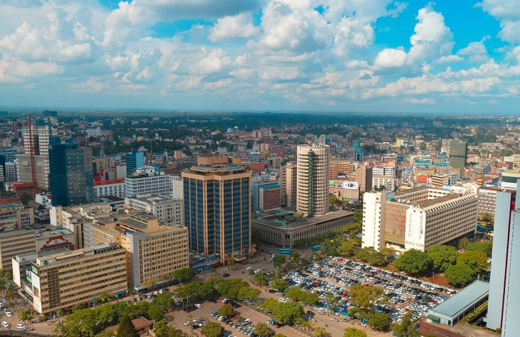 View of a section of Nairobi. 10 city estates are set for redevelopment in the second phase of the Nairobi Affordable Housing Delivery Programme.