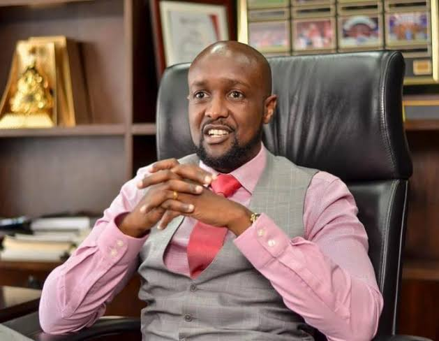 Sportpesa CEO Ronald Karauri pictured in a past interview