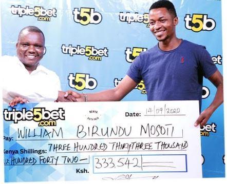 triple5bet winners