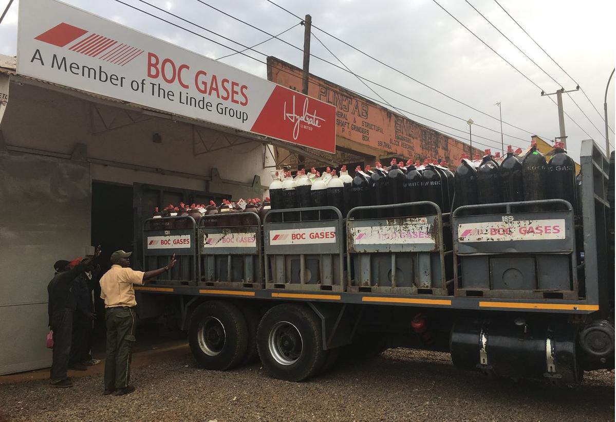 BOC gases share price