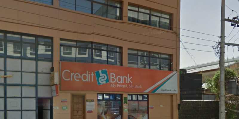 A Credit Bank branch in Kenya