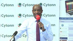Cytonn CEO Edwin Dande addressing a past forum