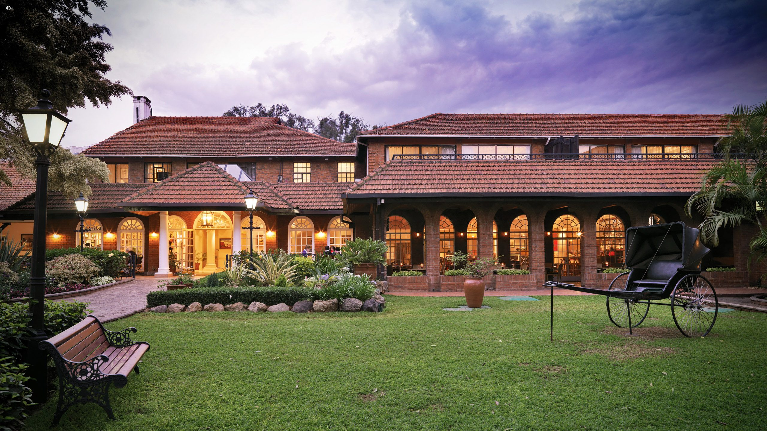 Fairmont the Norfolk in Nairobi. The hotel has been acquired by the Chaudhary Group.