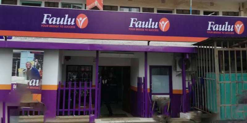 A Faulu Microfinance Bank branch
