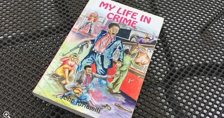 A copy of My Life in Crime by John Kiriamiti. The book is among EAEP titles eyed for conversion to audiobook format.