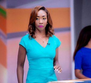 Citizen TV news anchor Yvonne Okwara at the station's studios
