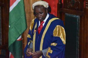 Acting Nairobi County Governor Benson Mutura during a past session at the Nairobi County Assembly