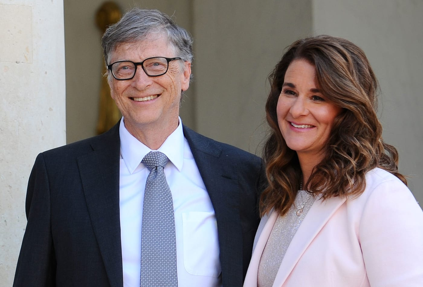 Bill and Melinda Gates of the Gates Foundation. The foundation has donated over Ksh27 billion for the fight against Covid-19.