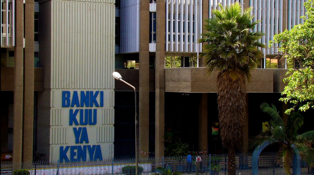 The Central Bank of Kenya (CBK) headquarters in Nairobi.