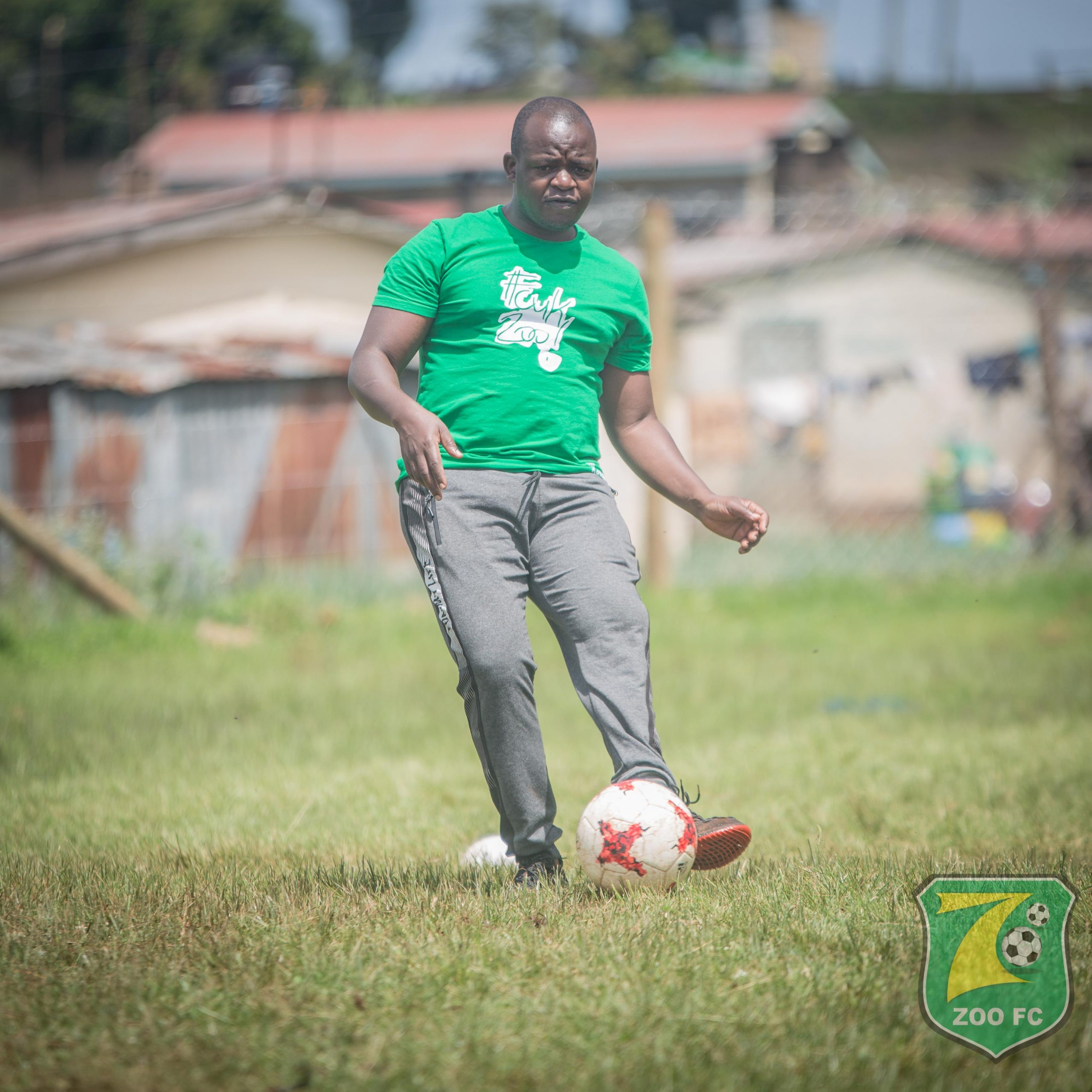 Zoo FC Chairman and Owner Ken Ochieng'. The club has refused to endorse FKF's media rights deal with StarTimes.