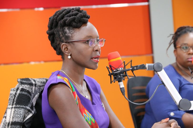 Dr Mercy Korir during a past radio interview. She revealed that she had been asked on multiple occasions to drop the 'Doctor' title.