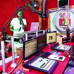 Inside Capital FM studios. The station is set to kill its long-running Hits not Homework show.