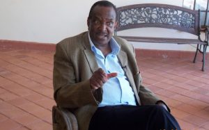 Former Minister Joseph Nyagah during a past interview