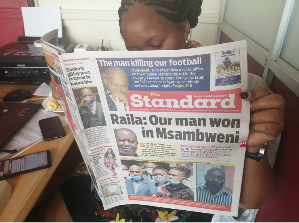 Standard Newspaper Managing Editor Dennis Galava quits