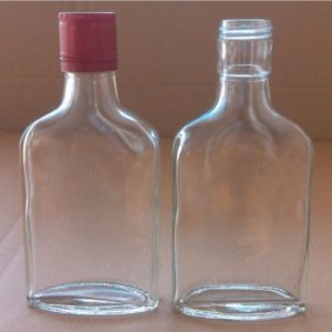Empty 250ml alcohol bottles. A new bill is proposing to increase the minimum package size for alcohol to 750ml.