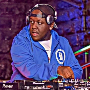 DJ Joe Mfalme at work.