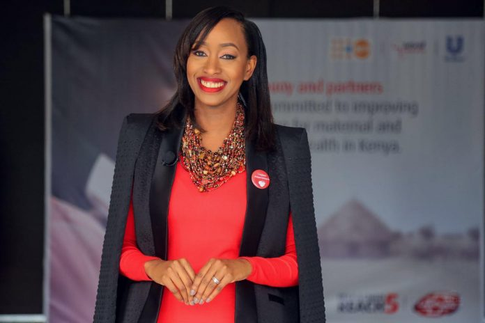 Janet Mbugua at a past event .