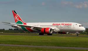 Kenya Airways - KQ - flights to Europe