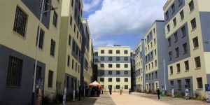 Units constructed under the affordable housing programme in Park Road, Ngara.