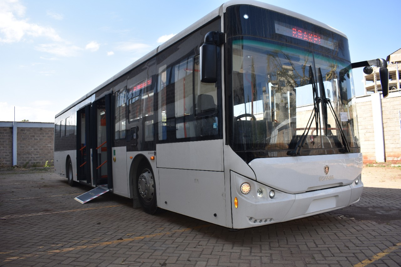The Scania City Bus. The company hopes to make the buses a key part of the BRT system in Nairobi.