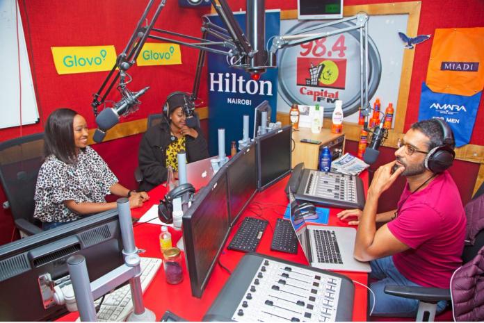 Capital FM presenters