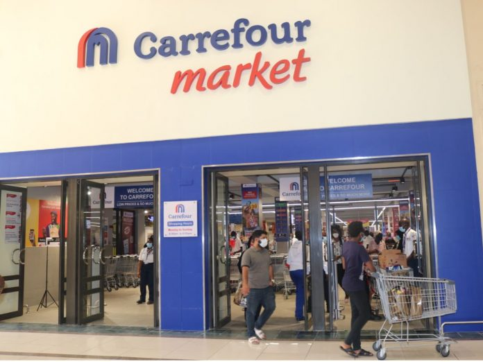 The Carrefour Market outlet in Westlands, Nairobi.