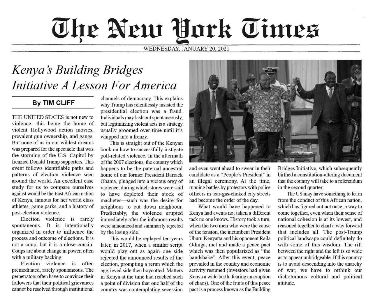 NYT Fake page