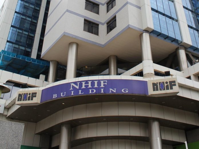 The NHIF building in Upperhill, Nairobi