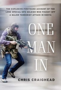 Front cover for 'One Man In', a book by Chris Craighead
