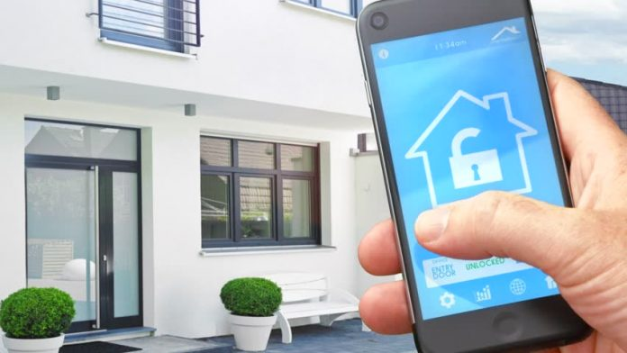 Depiction of smart home technology. Today, most people and households boast a multitude of smart devices.