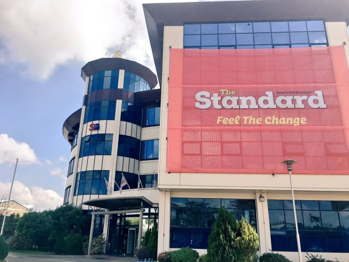 Standard Group's Mombasa Road headquarters.