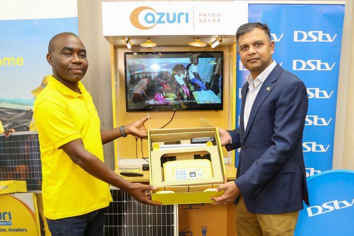 Azuri solar TV package