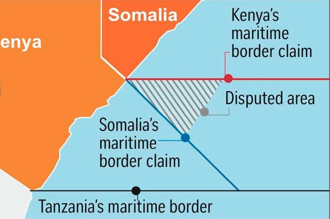 Kenya somalia disputed border area