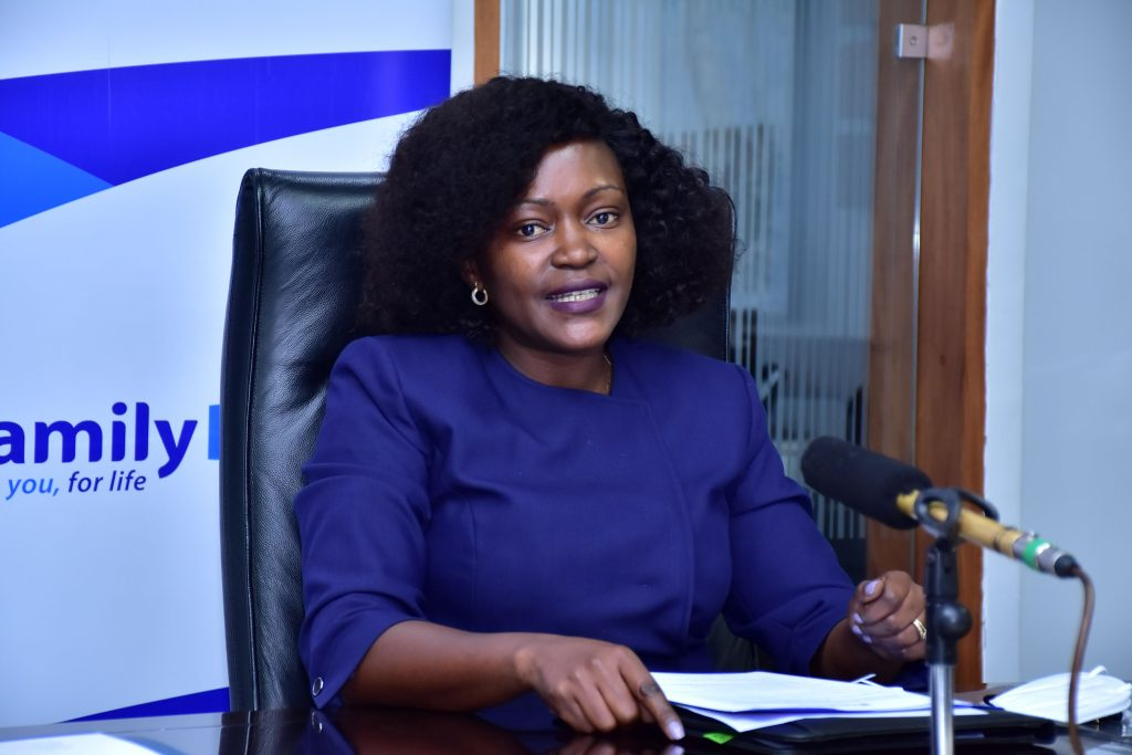Family Bank CEO Rebbeca Mbithi. In 2020, the bank's liquidity position rose to 37.1%, significantly above the minimum requirement of 20%.