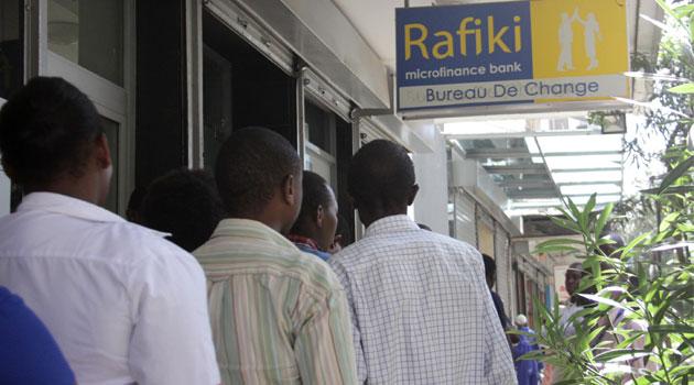 A Rafiki Microfinance Bank Branch