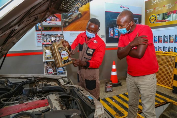 Total Lubricants in Kenya