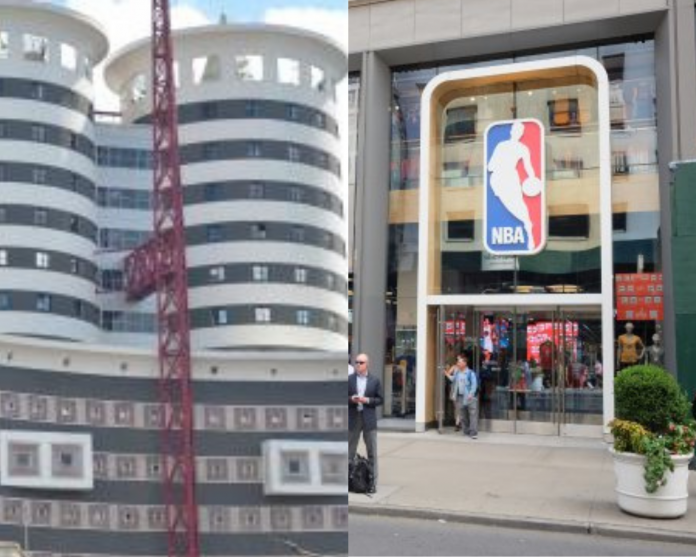 Nation Media Group (NMG) and NBA headquarters