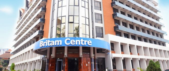 Britam headquarters in Nairobi. The firm expects to conclude a restructuring process in May 2021.
