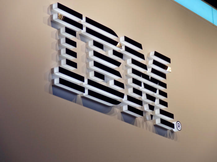 The IBM logo