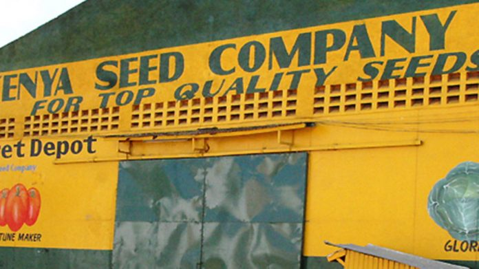 The Kenya Seed Company depot in Eldoret