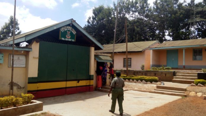 A gate at the Lang'ata Women's Prison. Interior CS has proposed that prisons in Nairobi be moved to other towns.
