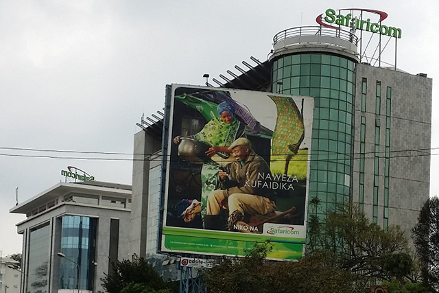 Safaricom headquarters in Westlands, Nairobi
