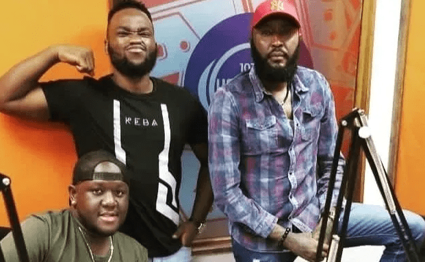 Sacked Homeboyz Radio presenters (from left) DJ Joe Mfalme, Neville and Shaffie Weru. A conversation from their breakfast show went viral as they were accused of promoting rape culture and misogyny.