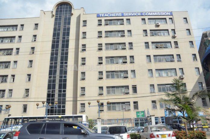 Teachers Service Commission (TSC) headquarters in Nairobi