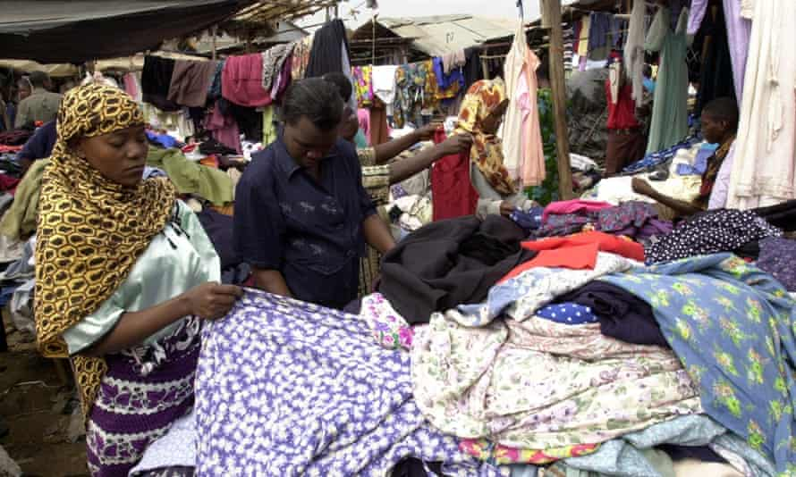 Women traders at a market in Kenya. Poverty brought about by the pandemic would also increase the gender poverty gap primarily within the 25-34 age bracket.