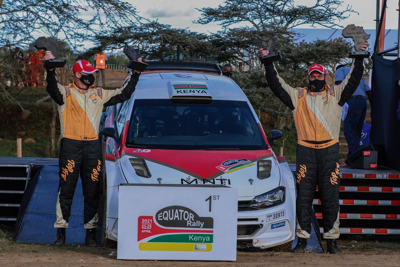 ARC Equator Rally winners